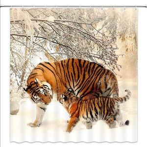 Other - Tiger Cub Shower Curtain